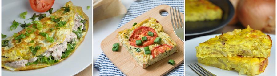 Nízkokalorické dietní recepty s vajíčky