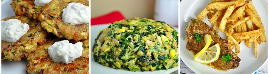 Nízkosacharidové zeleninové recepty