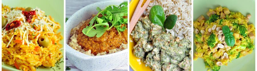 Zdravé recepty s rýží