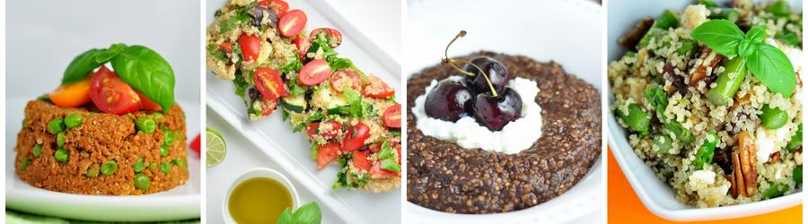 Zdravé recepty s quinoou