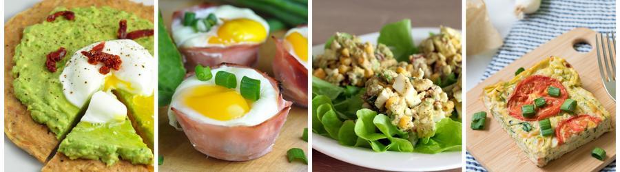 Vejce - zdravé recepty
