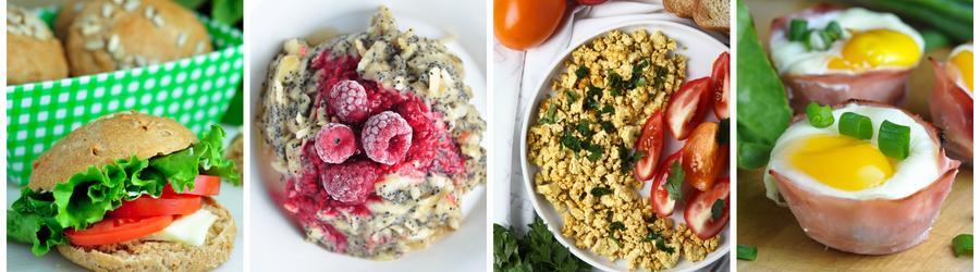 Zdravé snídaně bez mléka a laktózy