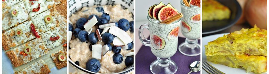 Zdravé snídaně bez mouky a lepku