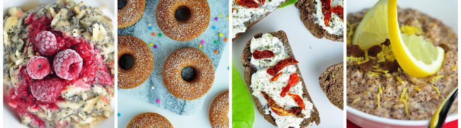 Zdravé veganské recepty na snídaně