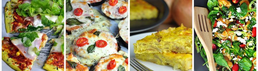 Low carb recepty na obědy a večeře