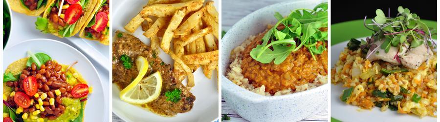 Bezlaktózové recepty na obědy a večeře