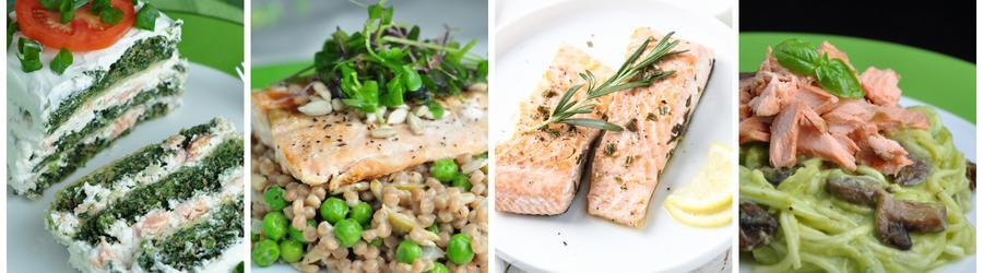 Losos - zdravé recepty na oběd a večeři