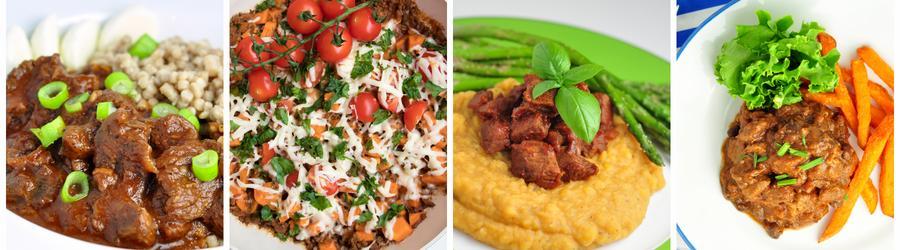 Zdravé recepty na oběd a večeři s hovězím masem
