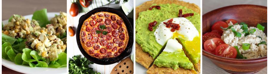 Fitness recepty na snídani s vajíčky
