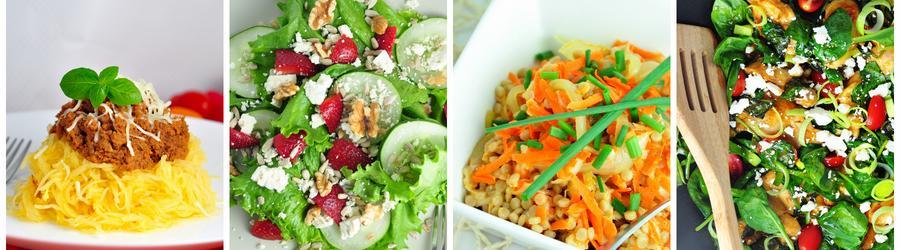 Zeleninové obědy a večeře