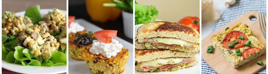 Fitness snídaně s vysokým obsahem bílkovin