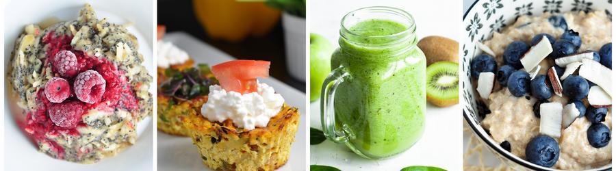 Dietní recepty na snídani