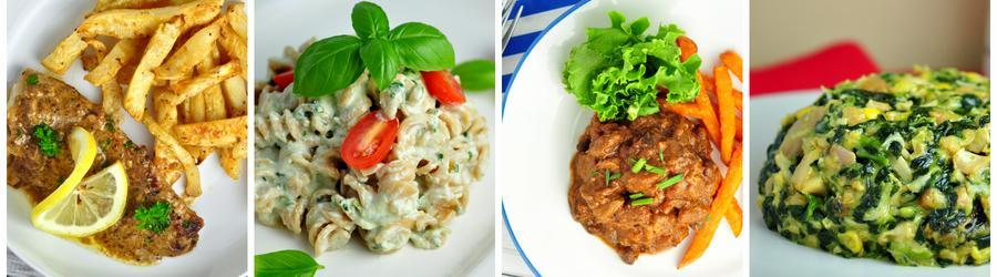 Fitness recepty na oběd a večeři