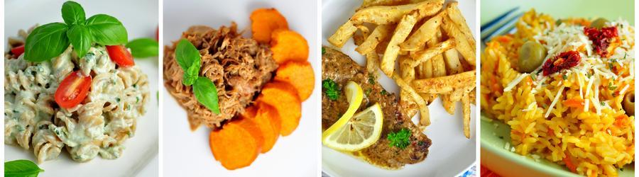 Dietní recepty na obědy a večeře