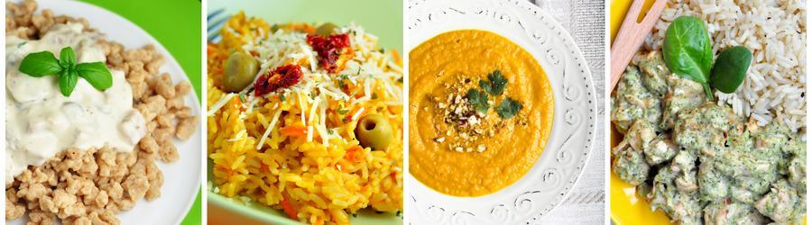 Recepty na nízkotučné obědy a večeře