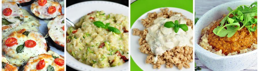 Zdravé bezmasé recepty na obědy a večeře