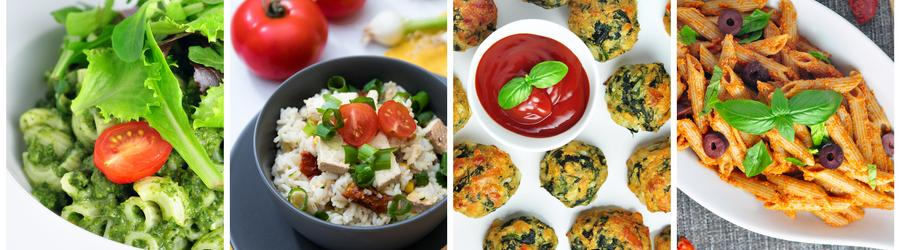 Zdravé bezmasé recepty - vegetariánské