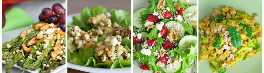 Low carb recepty na saláty